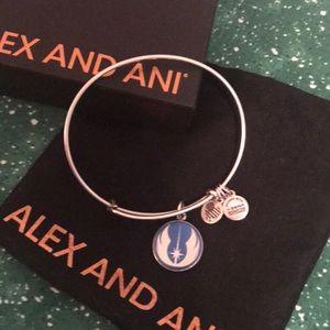Alex and Ani Silver Disney Star Wars Bracelet